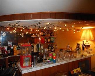 Vintage Bar Entertaining