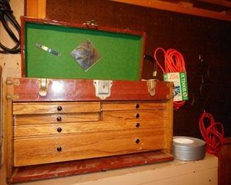 Vintage Tool Dye Box..very Clean