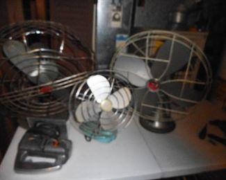 Electric Vintage Fans