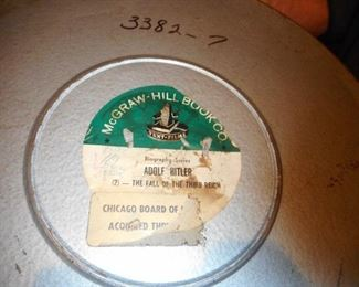 Biography of Adolph Hitler 16 mm ( 2 Canned Films)