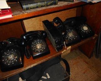 Vintage Rotary Telephones