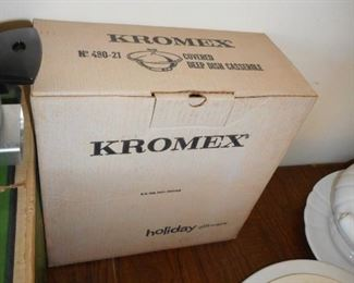 Kromex Holiday Entertaining NRFB