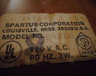 Label on Back