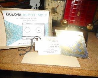 Bulova Transistor Original Tags