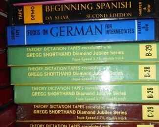 Learn German Italian..on TAPE