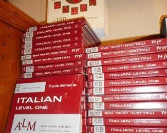 Learn Italian ON REEL TO REEL TAPE