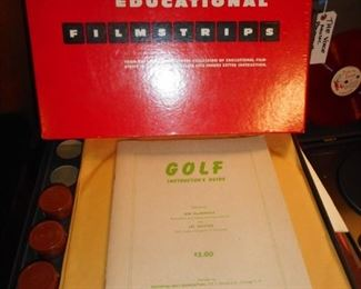 Learn how to Play Golf..lol..from Tape..and reading a book