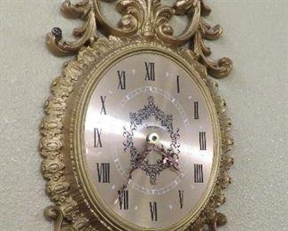 Burwood 1966 wall clock