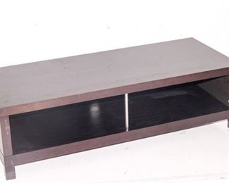 2. Television Stand with Storage