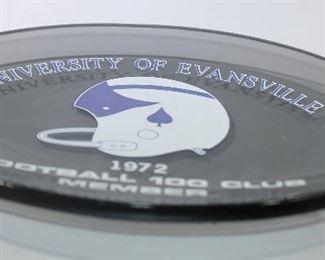 Universit yof Evansville 1972 Football 100 Club