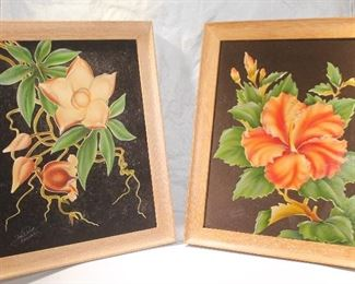 Frank Oda Hale PUA Hawaiian Art Deco Prints