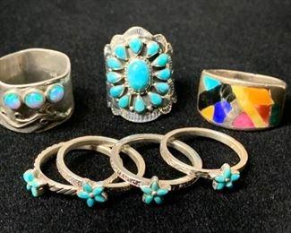Rings a Plenty with Stones #2 https://ctbids.com/#!/description/share/271242