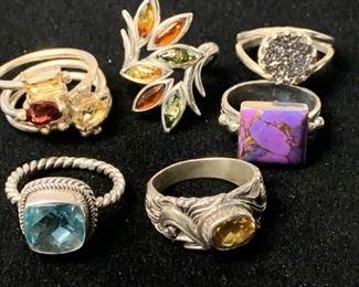 Colorful Rings by the half dozen #2 https://ctbids.com/#!/description/share/271243