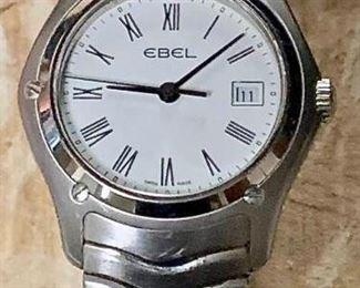 Ebel Classic Wave Stainless Steel Quartz Watch https://ctbids.com/#!/description/share/271203