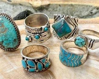 Rings a plenty with Stones https://ctbids.com/#!/description/share/271199