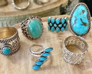 Rings By the Half Dozen with Stones https://ctbids.com/#!/description/share/271200