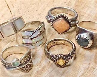 Colorful Rings by the half dozen https://ctbids.com/#!/description/share/271209