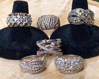 Bling Silver Rings https://ctbids.com/#!/description/share/271210