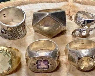Gems and Silver Rings https://ctbids.com/#!/description/share/271234