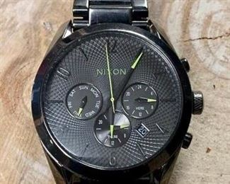 Nixon Silver Bullet Chrono 36 Watch https://ctbids.com/#!/description/share/271244