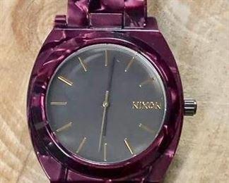 Nixon Unisex Time Teller Acetate https://ctbids.com/#!/description/share/271250