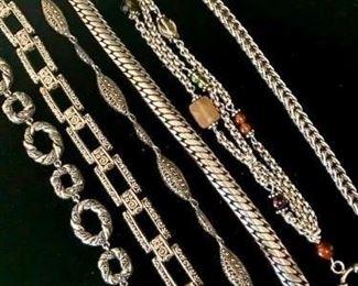 Silver Bracelet Collection #1 https://ctbids.com/#!/description/share/271268