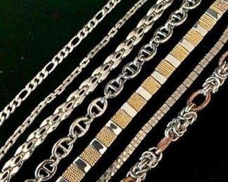 Steel Bracelet Collection #3 https://ctbids.com/#!/description/share/271276