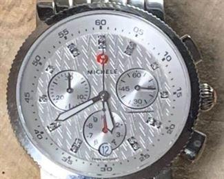 Michele Sport Sail 18 Diamond Dial Watch https://ctbids.com/#!/description/share/271187