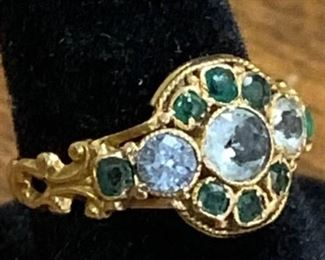 Very Old 14K Gold Ring https://ctbids.com/#!/description/share/271215