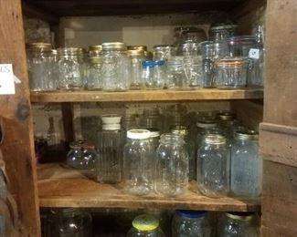 Still some old canning jars left