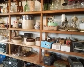 Crocks (some new ones added!), appliances, bottles, and more