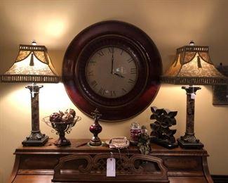 Huge 3' tall wall clock
