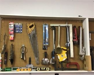 Pegboard of Tools https://ctbids.com/#!/description/share/270376