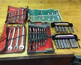 Universal Ratcheting Wrench Sets & Deep Socket Sets https://ctbids.com/#!/description/share/270379