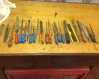 Assortment of Files/Sharpeners https://ctbids.com/#!/description/share/270386