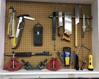 Tools on Pegboard https://ctbids.com/#!/description/share/270404