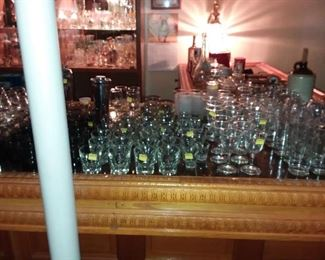 BARWARE GLASSES IN THE HUNDREDS!!