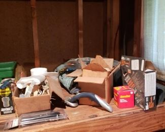 Misc yard and tool items