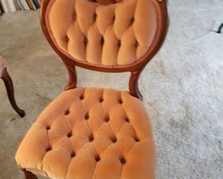 Victorian accent chair