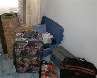 Luggage and other items