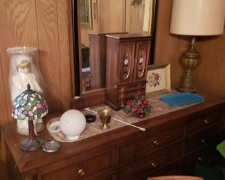 Dresser and mirror  all Drexel