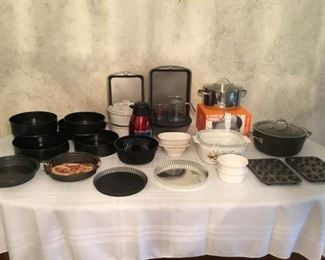 Cookware Galore