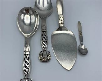 Georg Jensen Sterling Utensils