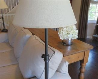 Chelsea Adjustable Table Lamp Pottery Barn ( there is a pair)