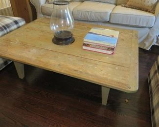 Rustic Shaker Style Coffee Table Sofa Not for sale