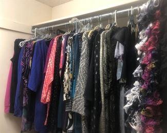 Large Selection of Women's Clothes, Shoes, Scarves, Belts, etc