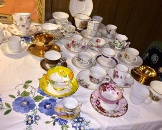 Demitasse  Cups and saucers