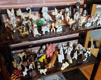 Antique dog collection