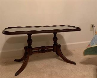 Small Glass Top Table