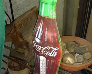 Coca cola thermometer